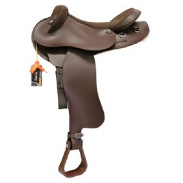 TEKNA Swinging Fender Cross Breed Saddle with Changeable Gullet