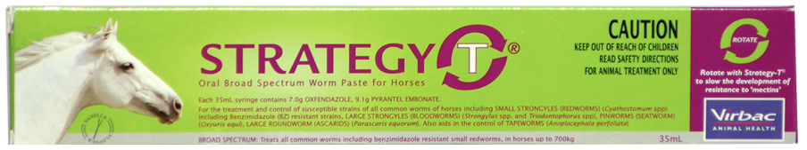 Strategy T Horse Worm Paste