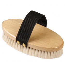 Goat Bristle Body Brush