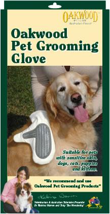 Oakwood Pet Grooming Glove