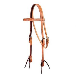 Basket Stamped Bridle