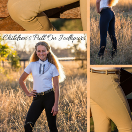 Jodhpurs, Peter Williams Children's Pull-On : Beige