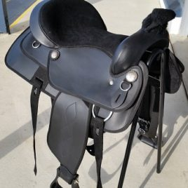 Western Saddle – Synthetic 18″